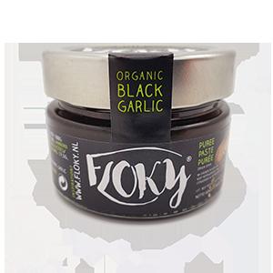 Floky zwarte knoflook puree